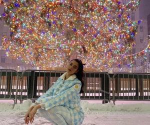 beautiful, lights, and tree image