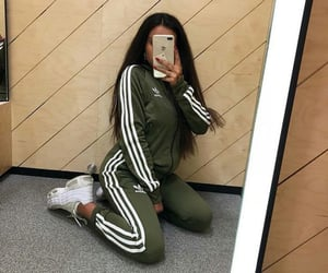 adidas, aesthetic, and brunette image