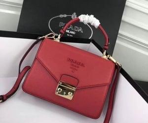 bag, Prada, and red image