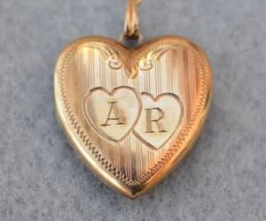 sweetheart gift, etsy, and heart locket image