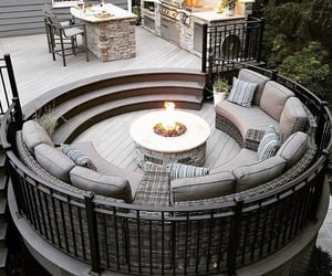 cosy, deck, and decor image