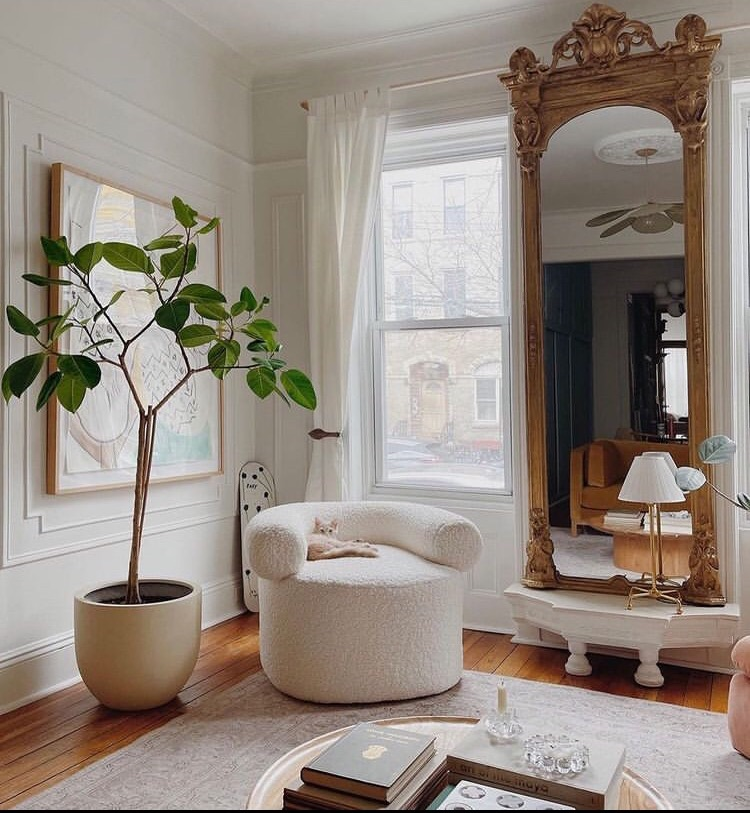 chair, decor, and furniture image