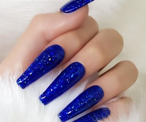 blue, designs, and girly image