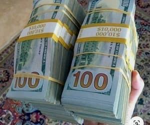 money flip, fashion, and money image