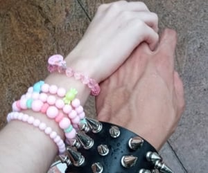 pale, cute, and relationship goals image