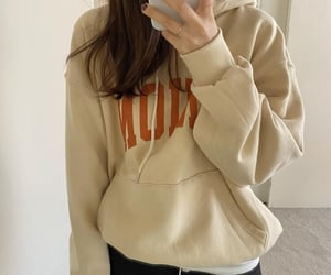 fashion, hoodie, and minimal image