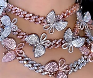 bling, chic, and jewelry image