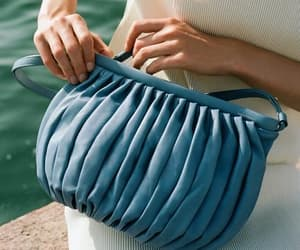 mansur gabriel and balloon pleated bag image