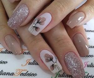 beauty, nail art, and decoration image