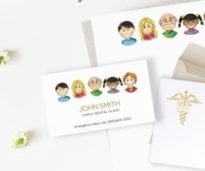 business card online image