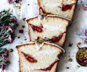 cake, guava, and cream cheese image