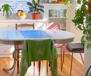 dining table, interior design, and indie image