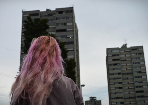 hair, pink, and alternative image