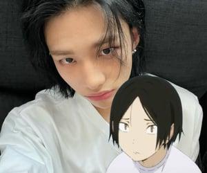 anime, blackhair, and icon image