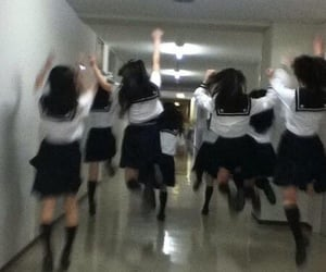 kawaii, school, and girls image