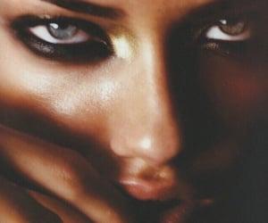 Adriana Lima, eyes, and model image