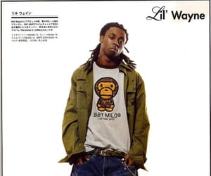 lil wayne and 2000's fashion image