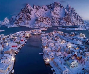 norway, places, and snow image