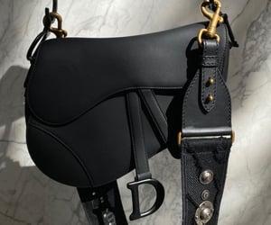 Christian Dior, black, and dior image