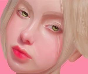 illustration, portrait, and art image