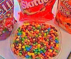 candy, candy shop, and skittles image