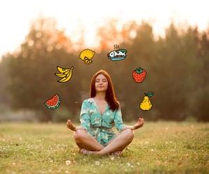 salute, bellezza, and frutta image