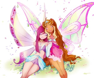 winxclub, flora, and tecna image
