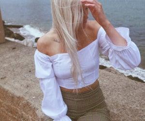 blonde, longhair, and goldengate image