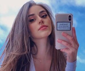 beautiful, brunette, and pretty image