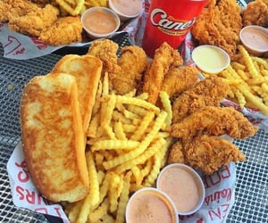 aesthetics, Chicken, and fast food image