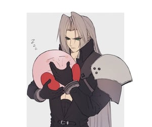 kirby, video game, and Sephiroth image