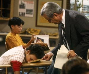 boy meets world, vibes, and mr. feeny image