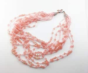 beaded necklace, etsy, and Valentine's Day image