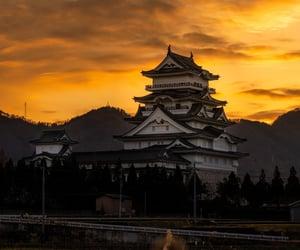 japan, mountain, and night image