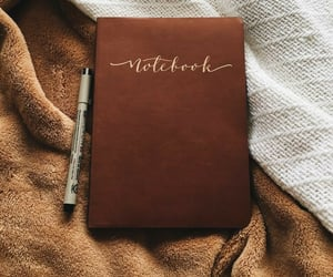 notebook, autumn, and fall image