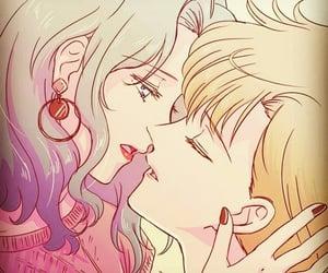 🌊, harukatenou, and lesbian image
