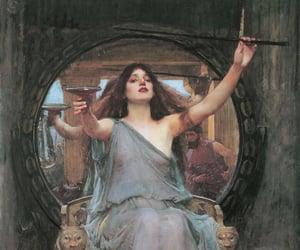 art, painting, and circe image