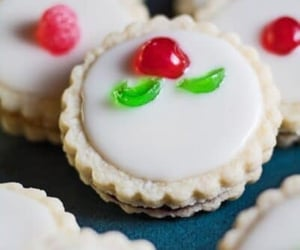 holiday baking, christmas cookies, and Cookies image