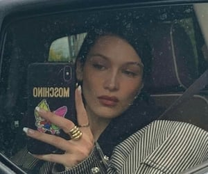 bella hadid, model, and aesthetic image