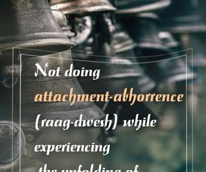 attachment, dislike, and karma image