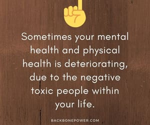 mental health, inspirational quotes, and physical health image