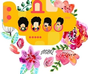 aesthetic, beatles, and music image