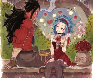 fairy tail, gale, and anime couple image