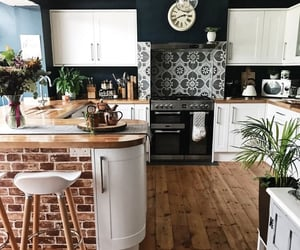 kitchen, beautiful, and home image