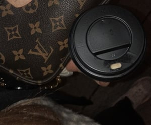 bag, cappuccino, and casual image