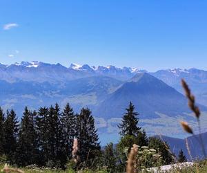 beau, beautiful, and montagne image