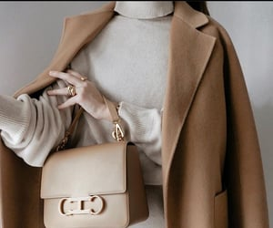 coat, cosy, and beige tones image