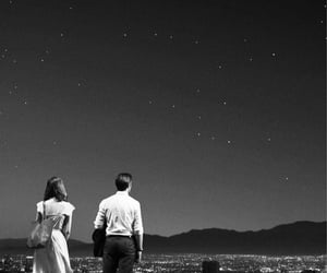 black, black and white, and couple image