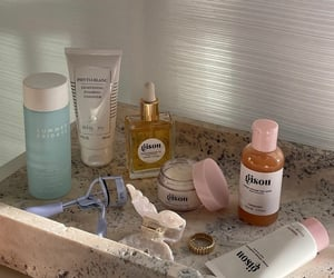 skincare, beauty products, and gisou image