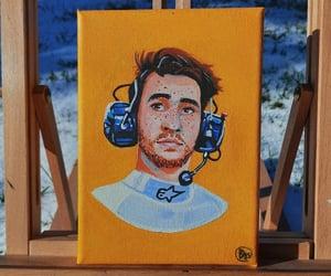 blue, fanart, and portrait image